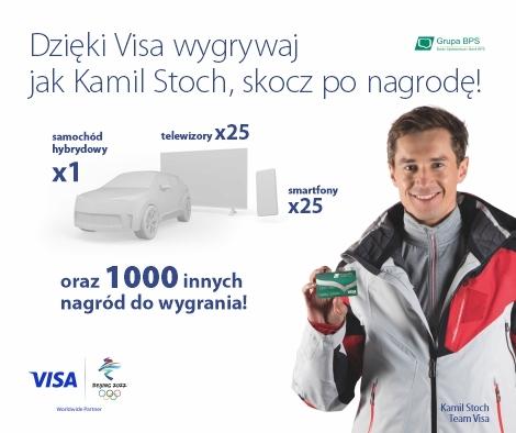 Konkurs dla posiadaczy kart VISA
